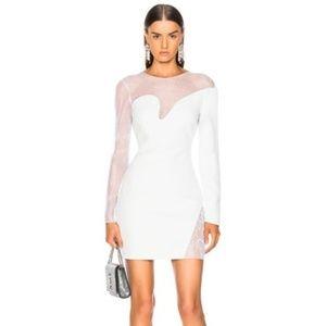 Cushnie Fragmented Mini Dress